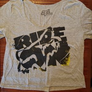 FOX RIDE design tshirt